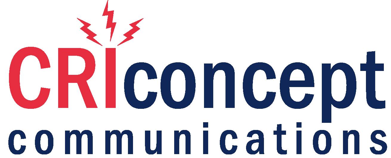 Logo CRIconcept, graphisme, web, photographie, rédaction