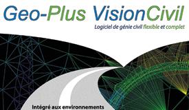 Affiche  pour le logiciel VisionCivil