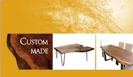 Encart pour une entreprise de fabrication de meubles