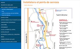 Site Web du CSSS de Saint-Jérôme